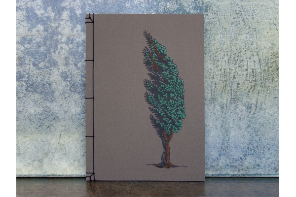 Cypress Tree by Fabulous Cat Papers
