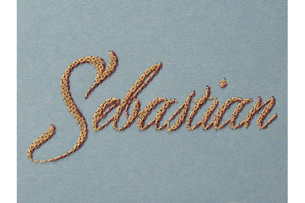 Custom Name Notebook by Fabulous Cat Papers