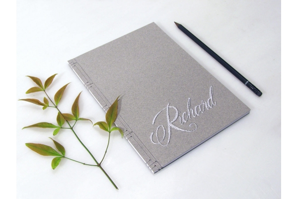 Personalized Name Journal by Fabulous Cat Papers