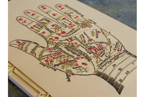 Palmistry Notebook by Fabulous Cat Papers