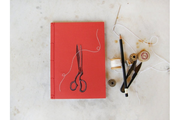 Scissors Journal by Fabulous Cat Papers