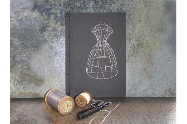 Sewing Mannequin Journal by Fabulous Cat Papers