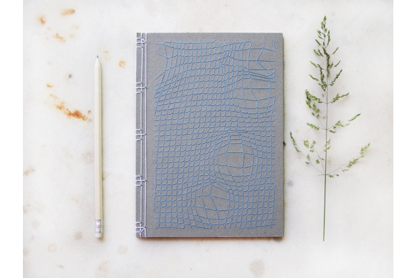 Disturbed Mesh Journal by Fabulous Cat Papers