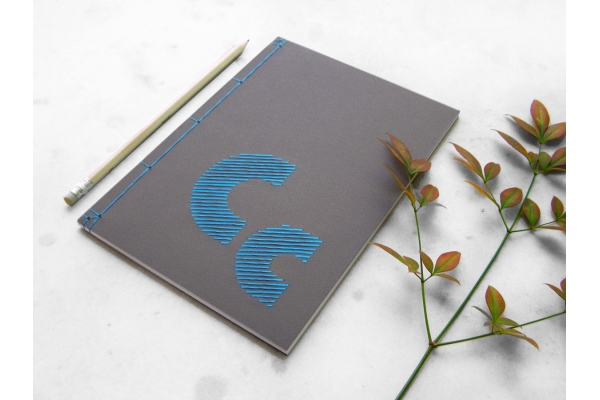 Personalized Initials Journal by Fabulous Cat Papers