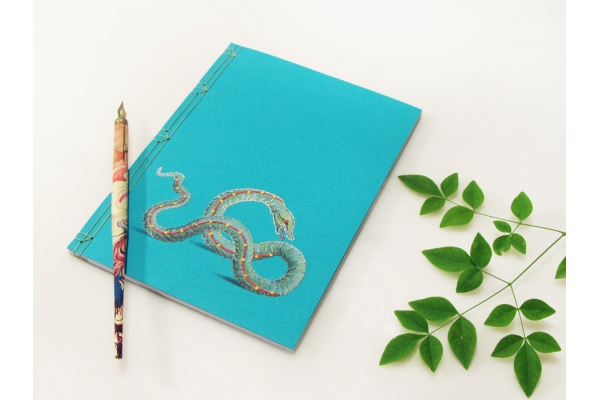 Sea Snake Journal by Fabulous Cat Papers
