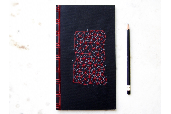 Math Journal. Voronoi & Delaunay Diagram by Fabulous Cat Papers