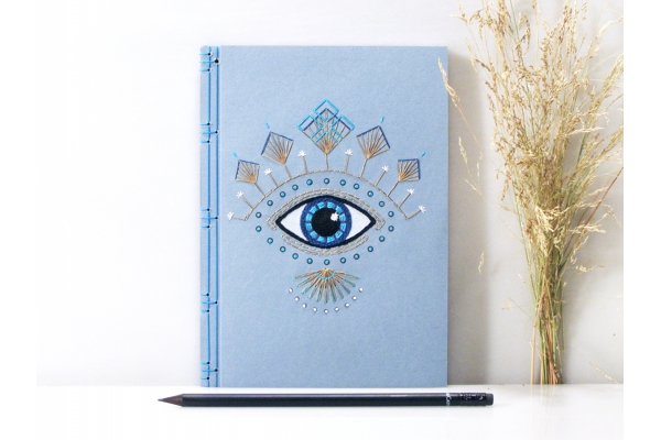 Evil Eye Journal by Fabulous Cat Papers