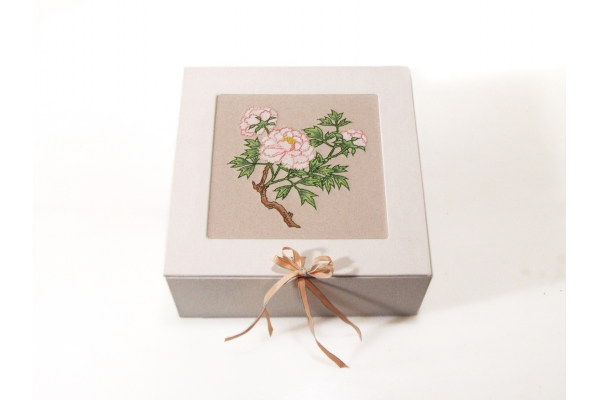 Japanese Peony Box by Fabulous Cat Papers