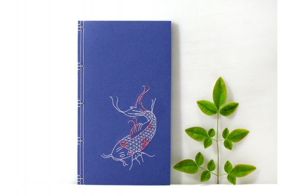 Koi Fish  Journal by Fabulous Cat Papers
