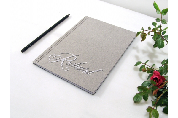 Personalized Name Journalby Fabulous Cat Papers