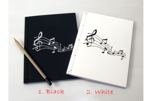 Music Journal by Fabulous Cat Papers