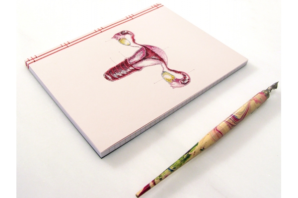 Uterus and Ovaries Journal by Fabulous Cat Papers