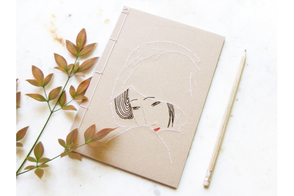 Geisha Journal by Fabulous Cat Papers