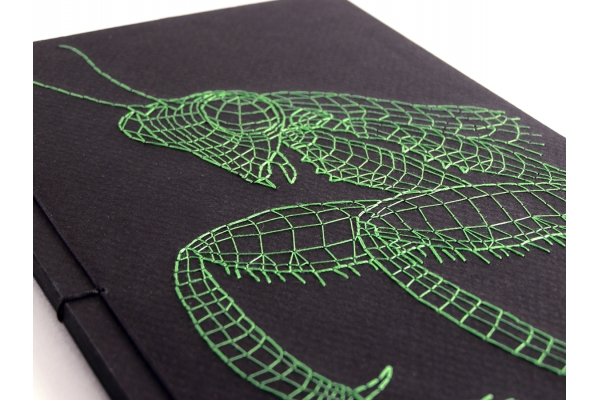 Praying Mantis Journal by Fabulous Cat Papers