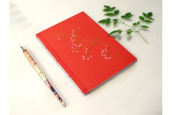 Sakura. Cherry Flower Journal by Fabulous Cat Papers