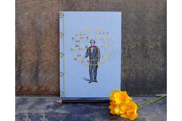 Manual of Gesture Journal by Fabulous Cat Papers