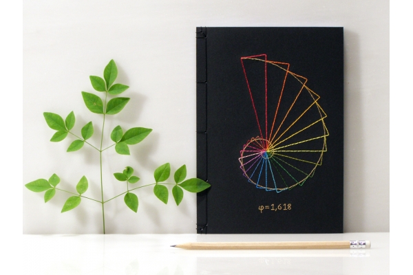 Golden Ratio Journal by Fabulous Cat Papers