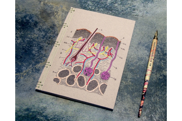 Skin Layers Journal by Fabulous Cat Papers