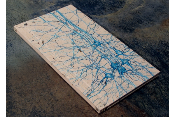 Neurons Journal. Studie No3 by Fabulous Cat Papers