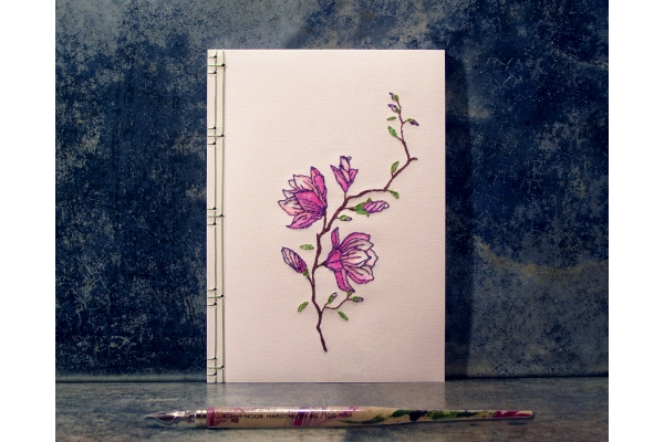 Japanese Magnolia by Fabulous Cat Papers