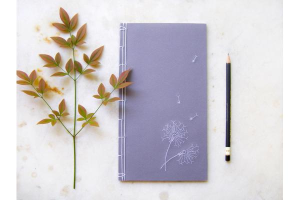 Dandelion Journal by Fabulous Cat Papers