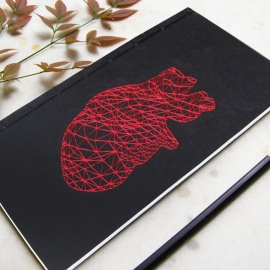 Red Heart Anatomy Journal
