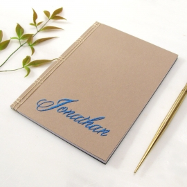 Custom Name Journal by Fabulous Cat Papers