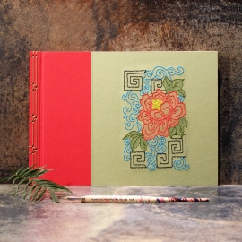 Chinese Peony by Fabulous Cat Papers