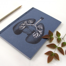 Lungs Anatomy Journal by Fabulous Cat Papers
