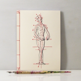Phrenology Journal by Fabulous Cat Papers