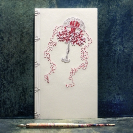 Medusa (Jellyfish) Journal by Fabulous Cat Papers