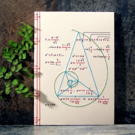 Golden Ratio Notebook by Fabulous Cat Papers