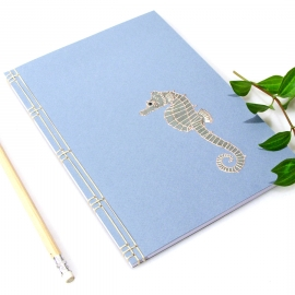 Sea Horse Journal by Fabulous Cat Papers