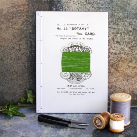 Old Fashioned Card Spool Journal by Fabulous Cat Papers