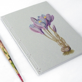 Crocus. Botanical Journal by Fabulous Cat Papers