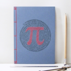 "Pi Number. ""π"" by Fabulous Cat Papers"
