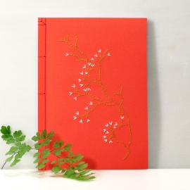 Sakura. Cherry Flower Journal by Fabulous Cat Papers