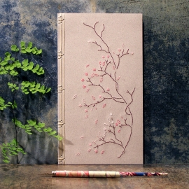 Blooming Branch. Poetry Journal by Fabulous Cat Papers