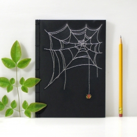 Spider's Web Journal by Fabulous Cat Papers