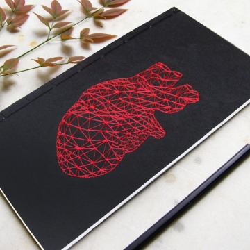 Red Heart Anatomy Journal