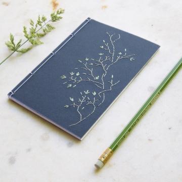 Tree Branch. Blue A6 notebook