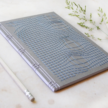 Disturbed Mesh Journal on grey