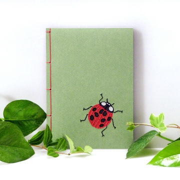 Ladybug. A6 Cute Notebook