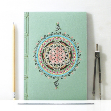 Flower of Life Mandala Journal