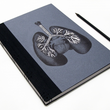 Lungs Anatomy Book
