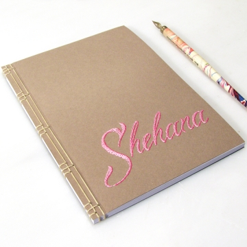 Personalized Name Notebook