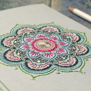 Mint Mandala Journal