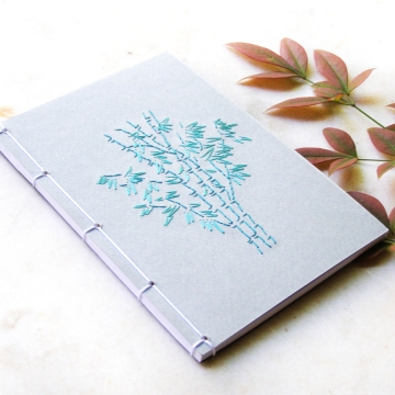 Bamboo Trees. Small Notebook