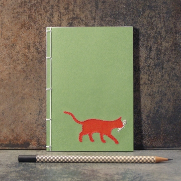 Red Cat Notebook