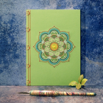 Mandala Journal. Green